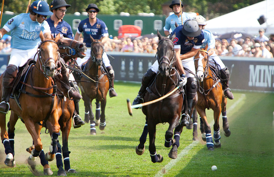 mint polo in the park, hurlingham, june 2012