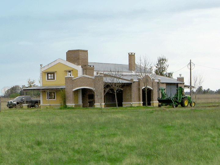 Camino Real Polo Country Club, starts works on the old Estancia farmhouse.